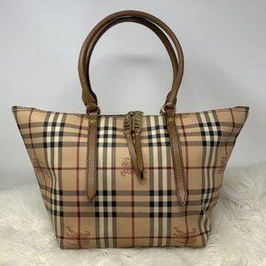 authentic Burberrys Tote Bag Beiges SHOULDER BAG